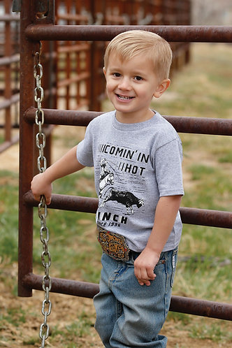 CINCH COMIN IN HOT BOY'S T-SHIRT