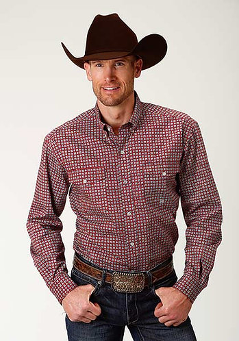 Roper Men's Long Sleeve Shirt