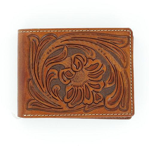 Nocona Leather Goods BI-FOLD Embossed Wallet