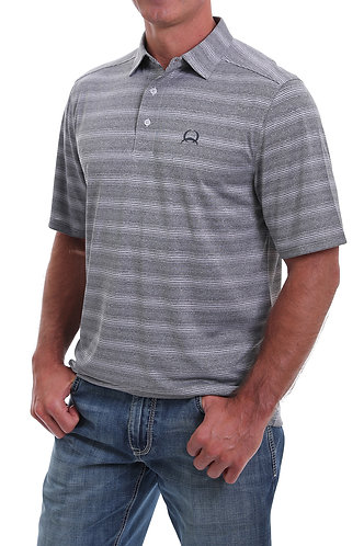 CINCH MENS S/S ARENAFLEX POLO 5/20 - GRY