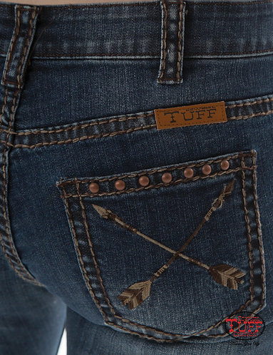Cowgirl Tuff Natural Pathmaker Jeans