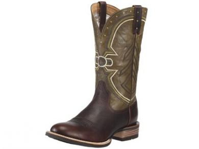 Ariat Men's Freedom Red River/Green Boot #10010281