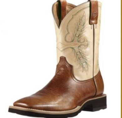 Ariat Mens Heritage Crepe Boots Coyote Brown #10011791