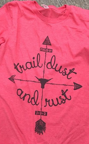 TRAIL DUST OR RUST TEE
