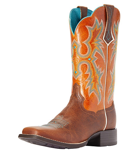 Ariat Ladies Tombstone Marigold Western Boots, 10036108