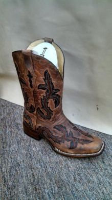 Corral Men's Brown Inlay Boots #G1137