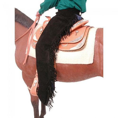 Tough-1 Suede Equitation Chaps