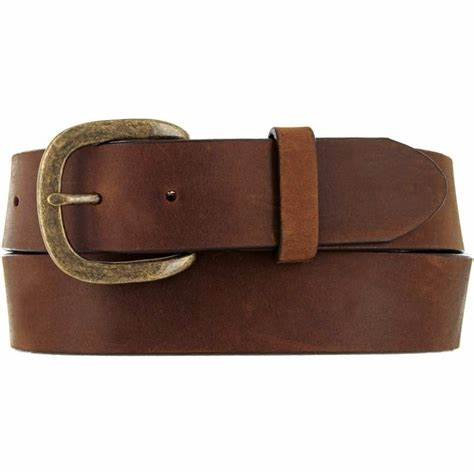 JUSTIN MENS WORK BASIC BELT-AGED BARK