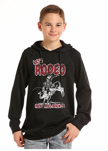 ROCK & ROLL COWBOY METALLIC STEERHEAD HO