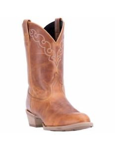 Dingo Koval  Cowboy Boot - Tan Leather Boots DI5773