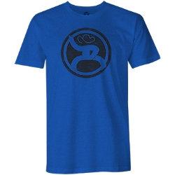 HOOey Royal Blue Roughy Logo Tee