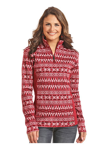 POWDER RIVER OUTFITTERS  TWO TONE AZTEC JACQ