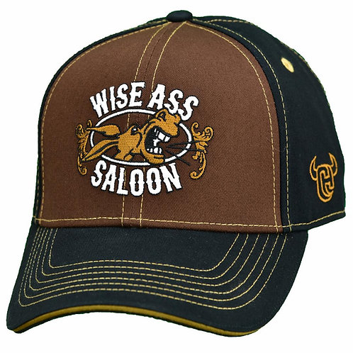 Cowboy Hardware Wise Ass Saloon Snapback