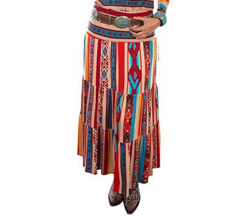 Scully Honey Creek Serape Maxi Skirt - Ladies