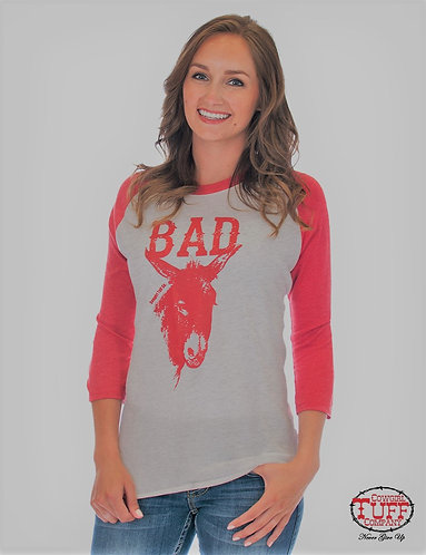 COWGIRL TUFF BAD ASS GRY S01067