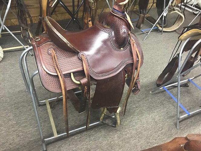 USED Hereford Rancher Tuff-N-Ornery Saddle