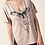 Thumbnail: Vocal Short Sleeve Top with Key-hole Front and Dream Catcher with Wings