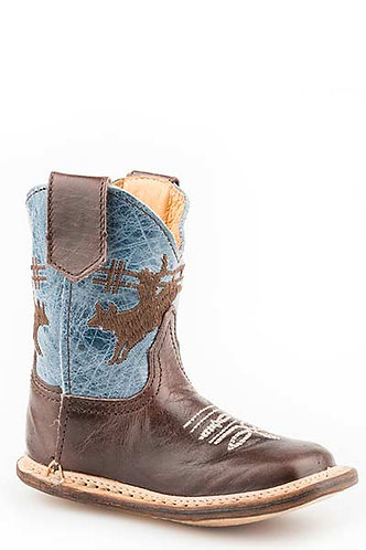 INFANT ALL LEATHER COWBOY BOOT