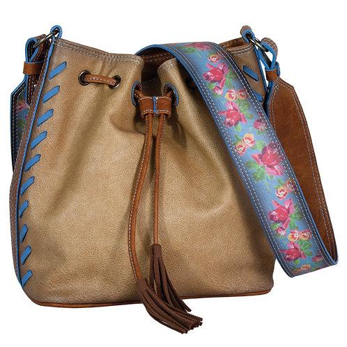 CATCHFLY JULIA CROSSBODY DRAWSTRING BUCKET BAG