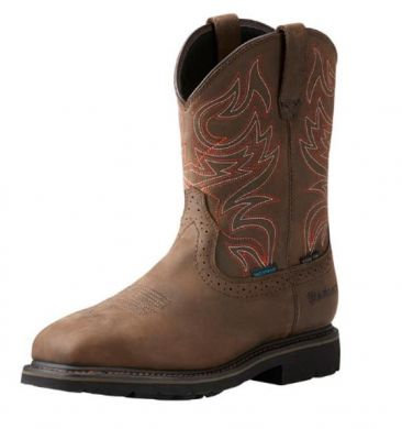 "Ariat 10\\\"" Sierra Delta H2O ST Mens Boots 10023056"
