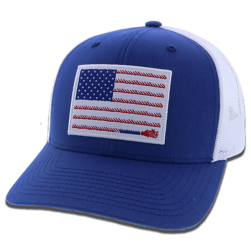 """Liberty Roper"" Blue / White"