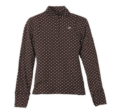 Ariat® Ladies' Lowell 1/4 Zip Print Top 10020700