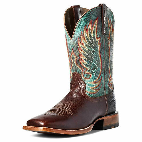 """ARIAT CYCLONE 11"""" WESTERN COWBOY BOOTS PULL ON LEATHER MEN"""