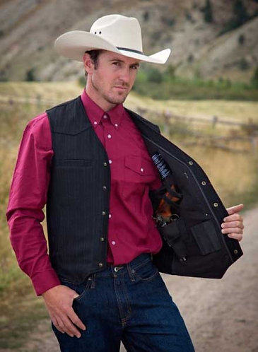WYOMING TRADERS RANGER Concealed Carry Wool Vest