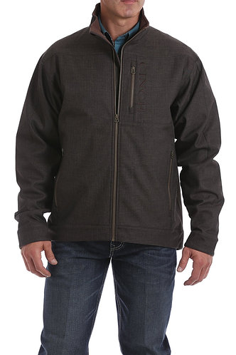 MENS CONCEALED CARRY BONDED JACKET - CHOCOLATE