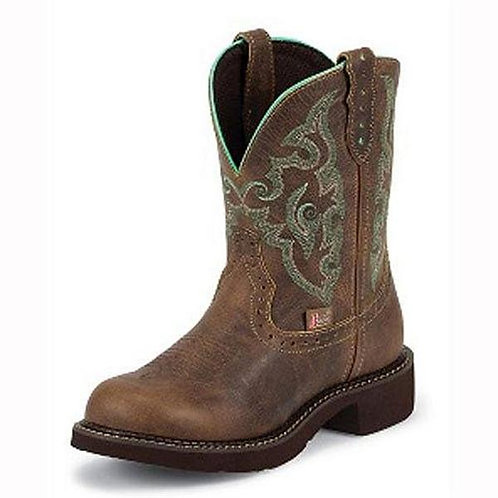 JUSTIN GYPSY WOMEN'S ROUND TOE WESTERN BOOTS