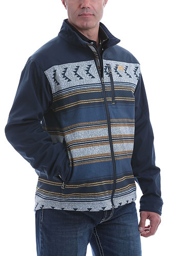 CINCH MENS COLOR BLOCK BOND JKT OW20 - NAV