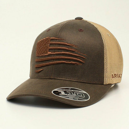 ARIAT MENS FLAG DESIGN CAP