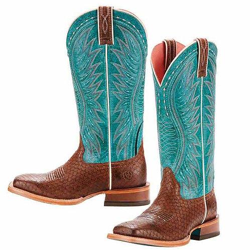 Ariat Women's Vaquera Topaz Turquoise Boot