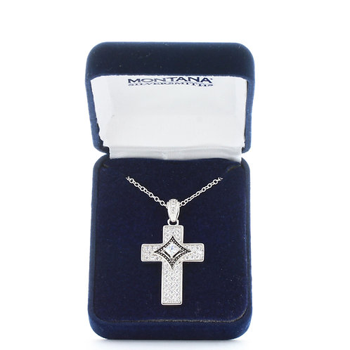 Centered in Faith Cross Necklace