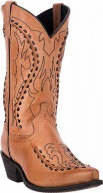 Larado Men's Antique Tan Larime Bucklace Boot #68432