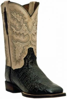 Dan Post Men's Black Caiman Boots #DP2805
