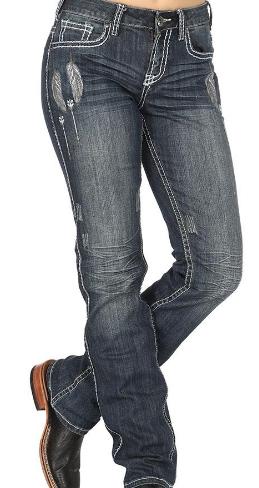 Cowgirl Tuff Fly Jean