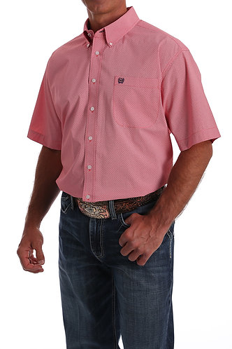 CINCH MENS S/S PRINT 7/20 - COR