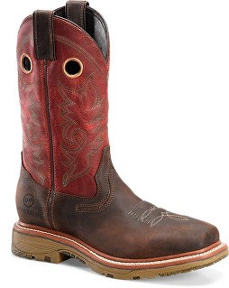 Double H Men's Workflex MAX Work Boots - Brown/Burgundy DH5243