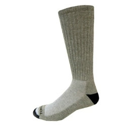 3 Pack Grey Cushion Over The Calf Socks