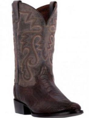 Dan Post Men's Bellevue Western Boots Tobacco/Chocolate DP26633