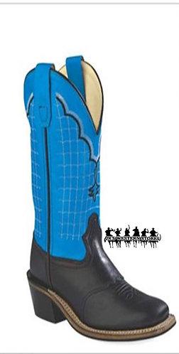 Old West Royal/Black Buckaroo Kid's Boot