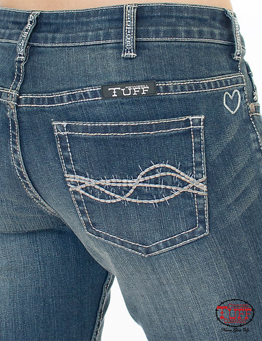 Cowgirl Tuff Inspire Special Edition Natural Fit Medium Wash Jean