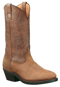 LAREDO Men's Brown Distressed Value Boot #4242