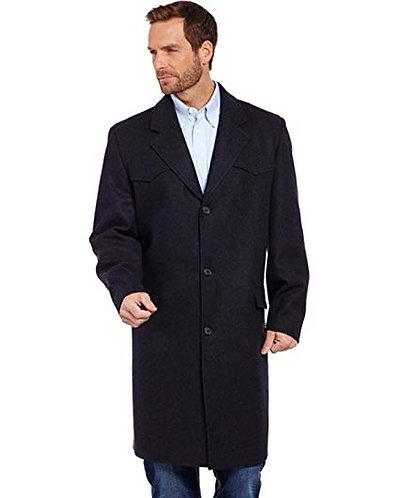 Cripple Creek Men's Wool Melton Overcoat