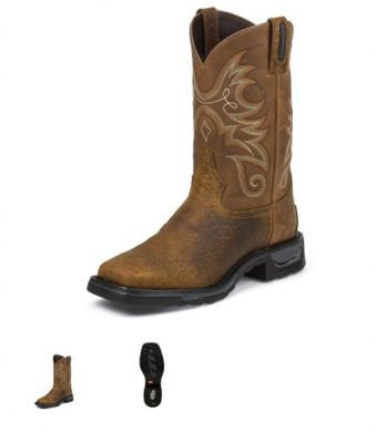 TONY LAMA MENS DIBOLL WATERPROOF BOOTS TW4005