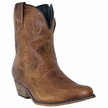 Dingo Ladies Adobe Rose Zipper Boot