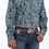 Thumbnail: Cinch Navy Paisley Western Shirt