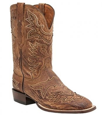 Lucchese Mens Brady Smooth Ostrich CL7965