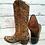 Thumbnail: Corral Ladies Brown and Tan Python Inlay Boots